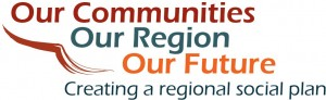 Our Communities, Our Region, Our Future. Creating a regional social plan.